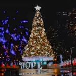 Araneta City lit up Giant Christmas Tree during virtual celebration