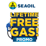 Lifetime Free Gas up for grabs at SEAOIL's Promo is back!