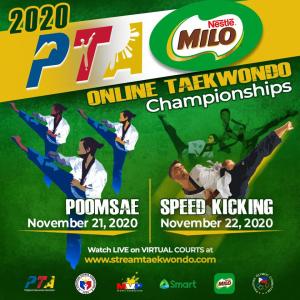 PTA-MILO Nat'l Online Taekwondo championships