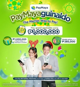 Give and receive this Christmas with PayMayaguinaldo