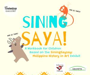 SiningSaya, the Art + History Children's Workbook for A Cause