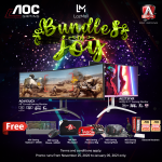 Enjoy Bundles of Joy with AOC Monitors Christmas Promo