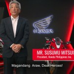 Philippine Red Cross recognizes Honda Philippines Inc. for Humanitarian Service