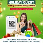 Enjoy the most rewarding holiday shopping with PayMaya and Megaworld
