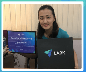 True Blends Tea and Coffee CEO Joyce Yu officially announced as Lark Business Mentee