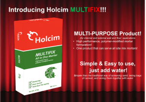 Holcim launches Multifix in the market
