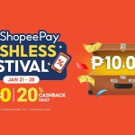 Top Up and Transfer for a Chance to Win ₱10,000 at the ShopeePay Cashless Festival