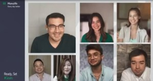 Celebrities Anne Curtis, Jasmine Curtis-Smith, Luis Manzano, and Kobe & Andre Paras share financial lessons and resolutions at Manulife webinar
