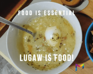 Lugaw is food: Food is essential, allowed during quarantine