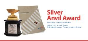 PSBank Annual Report bags Silver Anvil Award