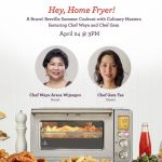Breville gives you a chance to enjoy frying without the guilt