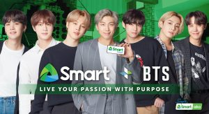 """World's biggest pop sensation BTS' """"Live Your Passion with Purpose"""" campaign for Smart Prepaid sends out a timely and encouraging message with Filipino Youth in mind"""