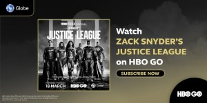 Watch Zack Snyder's Justice League and other DCEU films and series available on HBO GO with Globe