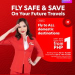 Fly safe and save more with AirAsia P1SO Seat Sale