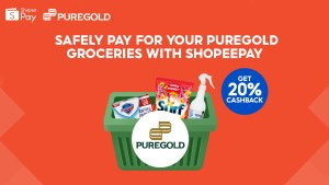 Puregold offers users a safer shopping experience with ShopeePay