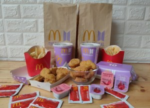 An honest food review of the McDonald's BTS Meal