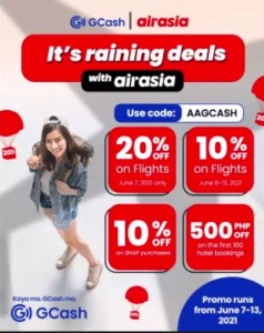 GCash x Airasia partnership lets you fly and pay safely