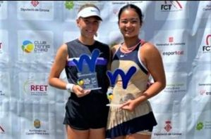 Eala,Russian partner barge into semis of French Open girls' doubles tilt