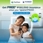 PayMaya users get free COVID-19 insurance