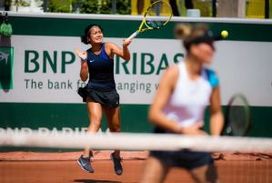 Eala, Selekhmeteva book finals berth in 2021 French Open girls' doubles tilt