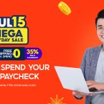 This July 15, make the most out of your money with exclusive rewards such as free shipping, ₱15 Deals, and finally, up to 35% cashback on Bills Payment—Shopee's biggest Payday cashback yet!