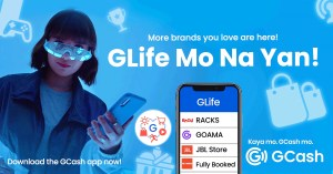 You can now shop for your favorite brands straight from your GCash through GLife