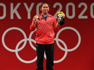 Weightlifter Hidilyn Diaz to receive several rewards after winning the first-ever Olympic Gold Medal for the Philippines
