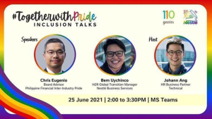 Nestlé Philippines celebrated Pride Month by pursuing workplace diversity and inclusion