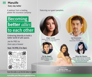 Manulife holds webinar to drive important conversations about diversity, equity, and inclusion