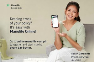 Manulife brand ambassador Sarah Geronimo shares why digital access is important in managing finances