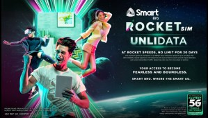 Unleash 30 days of Unli Data with the new Smart Bro Rocket SIM