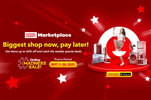 """Bigger and more """"Shop Now, Pay Later"""" deals coming your way with Home Credit Marketplace Online Madness Sale"""