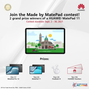 HUAWEI inks partnership with DOT, aims to spotlight Filipino culture and heritage with Made by MatePad Online Contest!