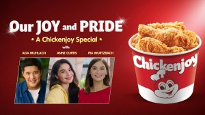 Aga Muhlach, Anne Curtis, and Pia Wurtzbach talk about why they love the Chickenjoy