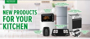 Upgrade your kitchen with XTREME Appliances' newest products
