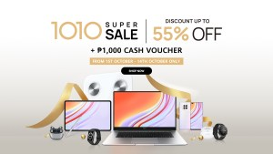 Amazing deals and bigger discounts up to 55% off at Shopee's Huawei 10.10 Mega Sale