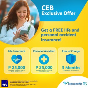 Cebu Pacific and AXA Philippines celebrate first anniversary of CEB Health Protect
