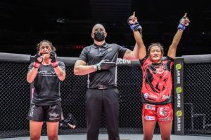 Jenelyn Olsim comfortable at Atomweight, wants the division's best fighters