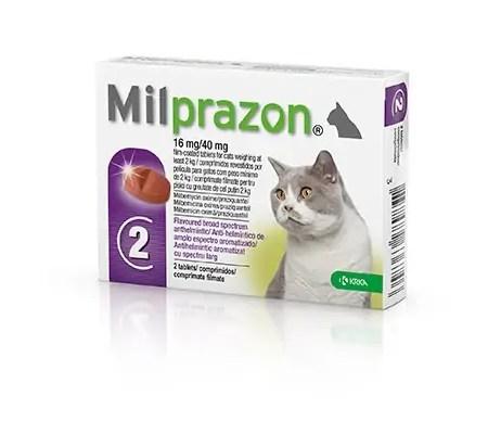 Milprazon tablety