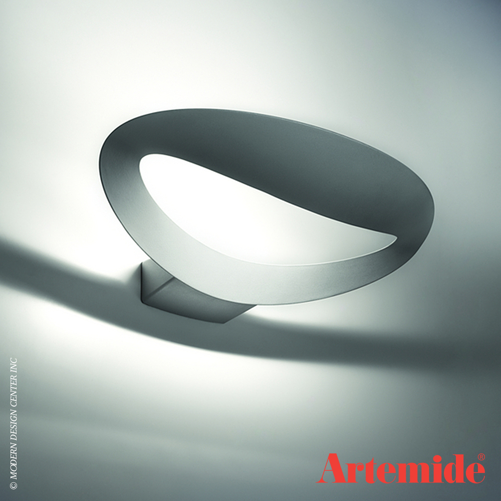 Mesmeri Led Wall Light Artemide Metropolitandecor