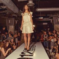 Design by Nora Del Busto at the Chicago Fashion Foundation's runway show at the Fashion's Night Out.