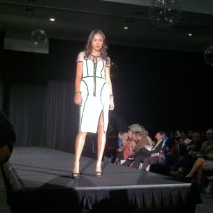 Fashion Focus Week Queen of Hearts runway show. Design by Anna Fong
