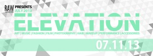 RAW natural born artists Elevation
