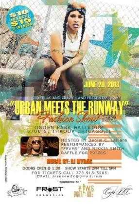 Urban Meet the Runway Event
