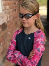 girls dolphin rashguard speed socket goggles speedo