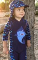 toddler sun protection shark jojo maman bebe