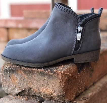 Hayzel Dr Scholls Girl Boots Gray
