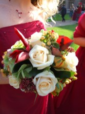 Textured Wedding Bouquets Hypericum