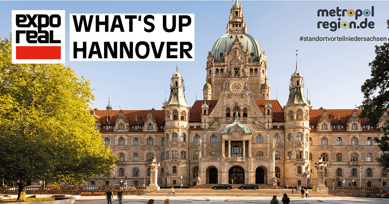 ExpoReal 2021: What's Up Hannover?