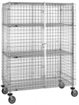 Metro Stainless Standard Duty Security Cart